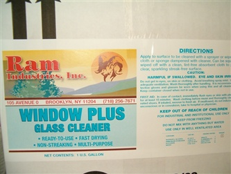 Window Plus Glass Cleaner
